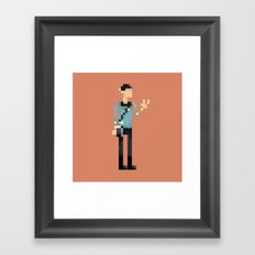 Live Long & Prosper Framed Art Print