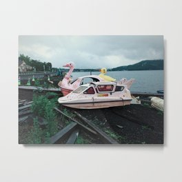Lake Yamanaka Metal Print