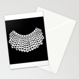 RBG Collar, Ruth Bader Ginsburg Tribute Stationery Cards
