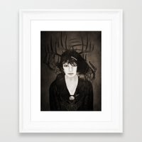 melissa smith Framed Art Prints featuring Melissa by Viviana Gonzalez