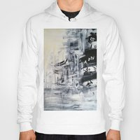 singapore Hoodies featuring Singapore II by Kasia Pawlak