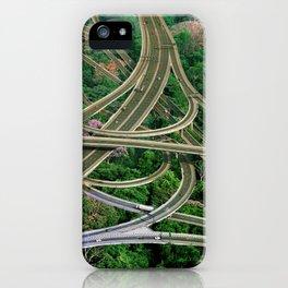 Capillary Motion, art print, gift, collage art, hand cut iPhone Case