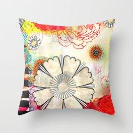 Hot August Day Throw Pillow