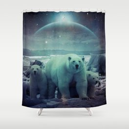The Queen of the North Pole v.3 Shower Curtain