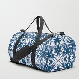 Ocean Shibori Duffle Bag