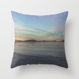 Chemtrails vs Color Throw Pillow