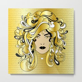 I AM WOMAN Metal Print