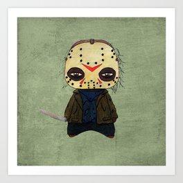 A Boy - Jason ( Friday the 13th) Art Print