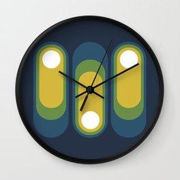 MCM Kapsel Wall Clock