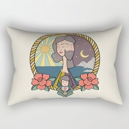 family portrait Rectangular Pillow