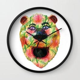 Shiny Happy Lion Wall Clock