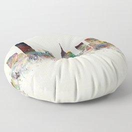 oklahoma city oklahoma Floor Pillow