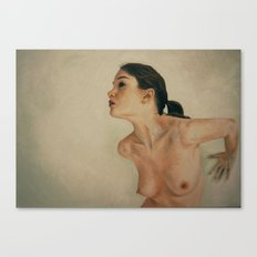 The nude dreamer Canvas Print
