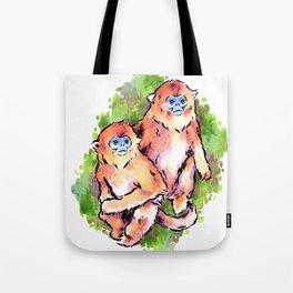 Golden Monkeys Tote Bag