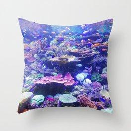 School Of Fish Throw Pillow