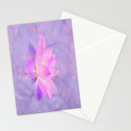 Lotus Emerging from the Water Stationery Cards