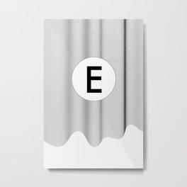 Fifth of the alphabet Metal Print