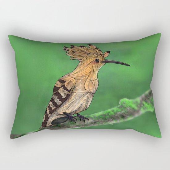 Upupa Rectangular Pillow