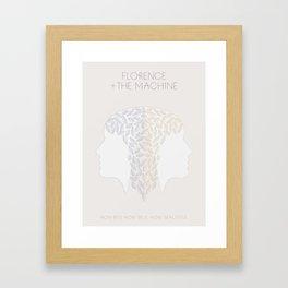 Florence + The Machine Framed Art Print