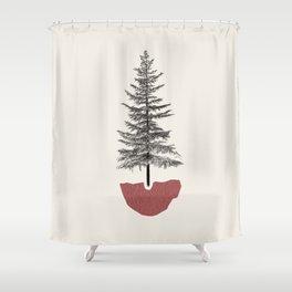 Fir Pine Shower Curtain