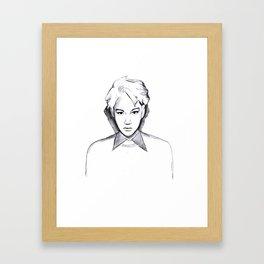 exo k jongin  Framed Art Print