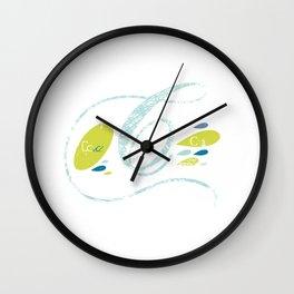 C-curl Wall Clock