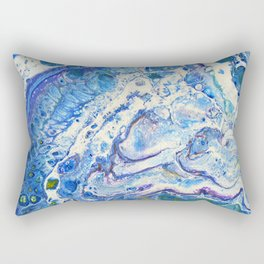 The Shallows Abstract Rectangular Pillow