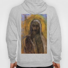 Christ In Silence Odilon Redon Hoody