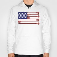 lacrosse Hoodies featuring Lacrosse AmericasGame by YouGotThat.com