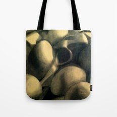 Charcoal Eggs Tote Bag