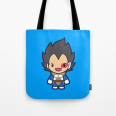 FunSized Vegeta Tote Bag