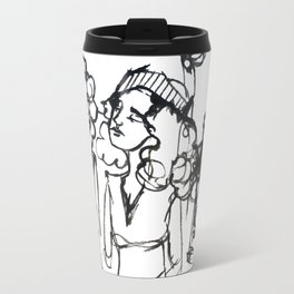 iPhone girl Travel Mug