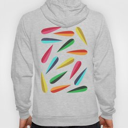Feathers II Cascading Colors Hoody