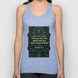 Apart from You Unisex Tank Top