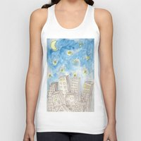 starry night Tank Tops featuring Starry night by Susan