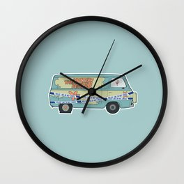 Busted: Mystery Machine Wall Clock