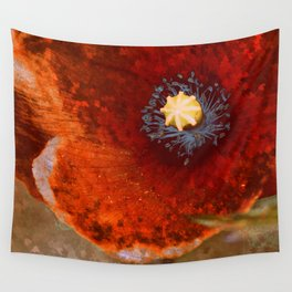 Poppies parched Wall Tapestry