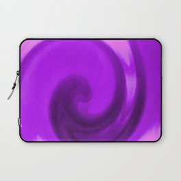 Purple tie dye Laptop Sleeve
