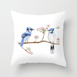Hope and Courage by Teresa Thompson Throw Pillow
