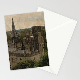 Cardiff Castle - Wales Stationery Cards