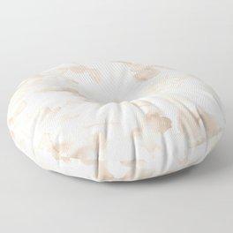 Greige Terra Cotta Floor Pillow