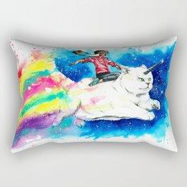 Magical fat kittycorn Rectangular Pillow