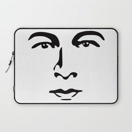 Silent Stars - Rudolph Valentino Laptop Sleeve