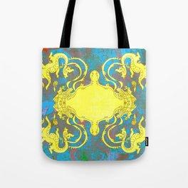 dragon and the phonixe Tote Bag
