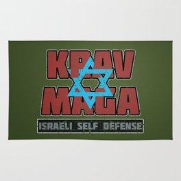 Israeli Krav Maga Magen David Rug