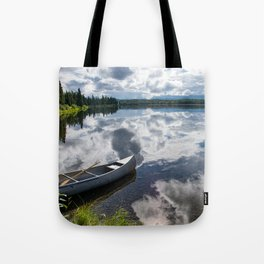 Tranquility At Its Best - Alaska Tote Bag
