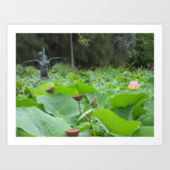 Botanical Love Art Print
