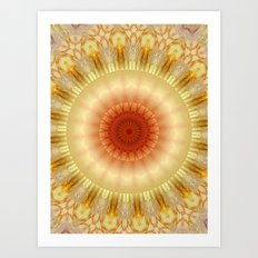 Mandala 9 Art Print