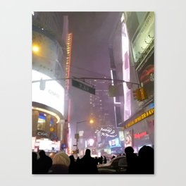 7th Ave. Canvas Print