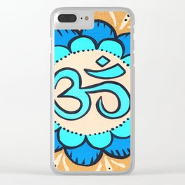 om 10 Clear iPhone Case